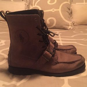 Ralph Lauren polo  men's suede boot size 9